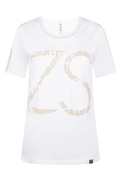 Zoso Jenny White T shirt with print