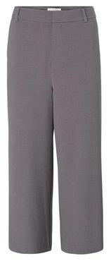 Yaya High waist culotte pantalon in viscose blend fabric