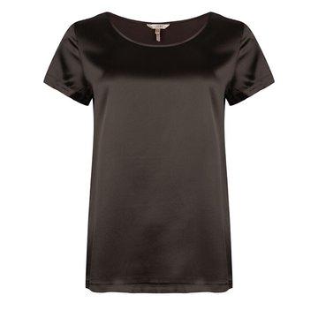 Esqualo T-shirt silk Black