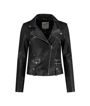Goosecraft GC  Lovemaker zwart biker jacket