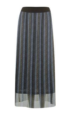 Poools  Skirt print striped print-