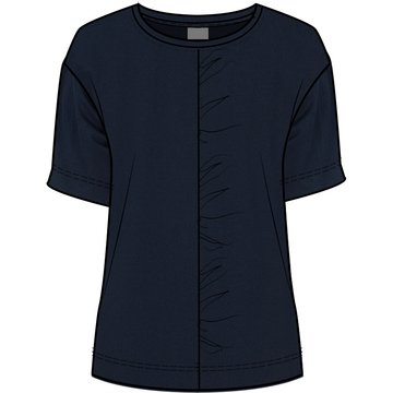 One Two Luxzuz Leni T-Shirt Navy