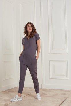 Yaya Jersey jumpsuit in Lyocell blend fabric
