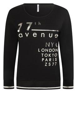 Zoso Paris Black Shirt with print