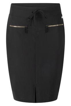 Zoso Gwen Black Travel Skirt