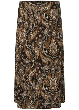 Tramontana Skirt Midi Mirrored Ornament Print