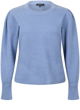 Tramontana Jumper Puff Sleeves  Ice Blue