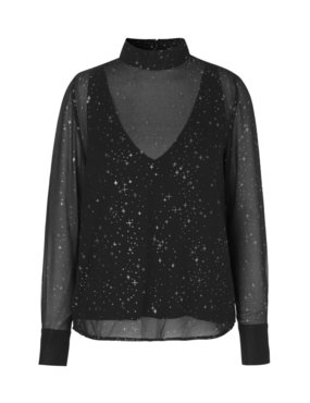 MBYM BLOUSE HILARY GALAXY PRINT