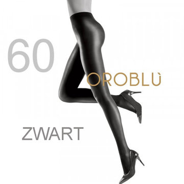 Oroblu Maggie 60 den Black Satin Tights