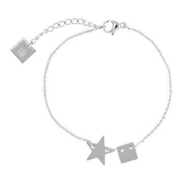 ZAG Ster zilver armband
