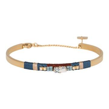 ZAG Marmer stone armband