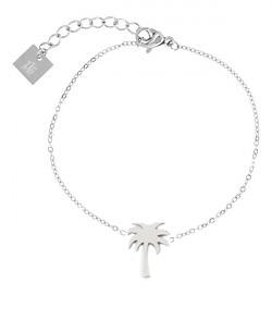 ZAG palm zilver armband