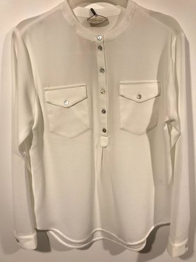 One two luxzuz blouse cream