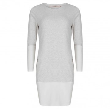 Esqualo Grey Dress Inside Out