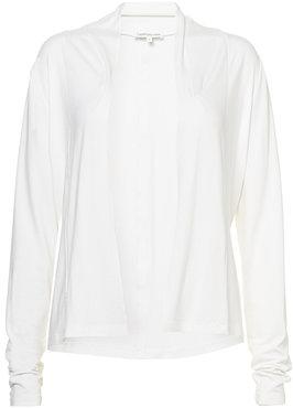 Tramontana Cardigan Knit Lace Tape off white