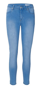 2nd One Nicole crop Blue Flex Jeans