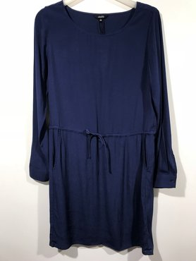 MBYM Caldiz blauwe jurk