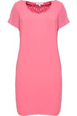 Tramontana Dress Lace Back V-Neck Flamingo