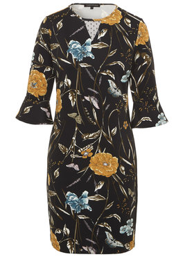 Tramontana Dress Punta Flower Print