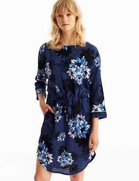 MbyM Hellena Jet Print jurk