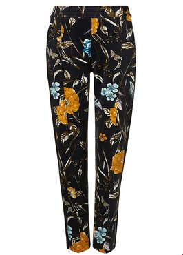 Tramontana Trousers Flower Print