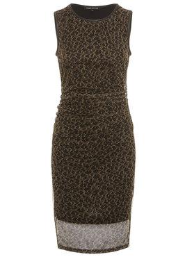 Tramontana Dress Mesh Leopard