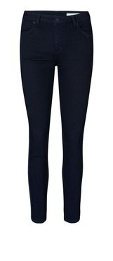 2nd One Nicole Crop Black Glitter Stripe jeans