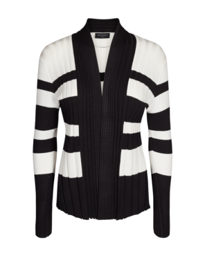 FREEQUENT CLAUDISSE-S-CAR-RIB-STRIPE