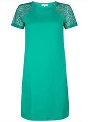 Tramontana Dress Sweat Lace Sleeves