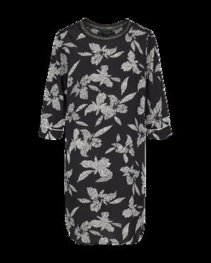 Freequent jurk Inia-dr zwart