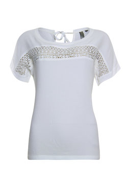 Poools Blouse Mix Ivory 913263