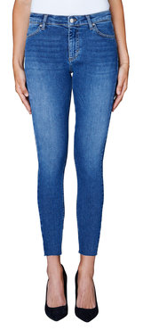 2nd One Nicole 601 Crop Retrograde Split Jeans