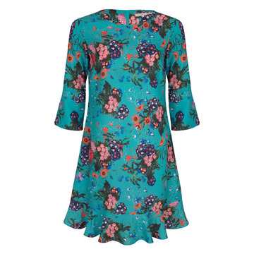 Esqualo multi flower dress