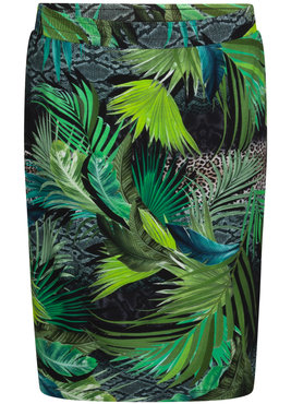 Tramontana Skirt Jungle print
