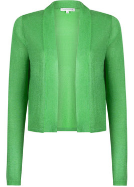 Tramontana Knitted Cardigan Short Bright Green