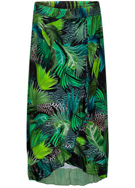 Tramontana Skirt Jungle Wrap print
