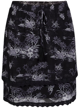Tramontana Skirt Fancy Tape BW Print