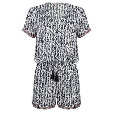 Esqualo Playsuit Viscose Print