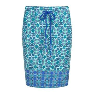 Esqualo Skirt Caleidoscope blue
