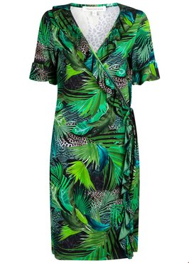 Tramontana Dress Jungle Wrap