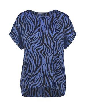Aaiko Merle Zebra Vis 520 Ocean Blue