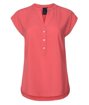 One two luxzuz Kika Blouse Coral