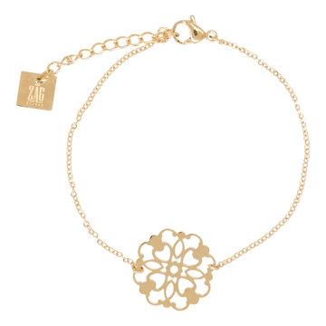 ZAG  gouden armband filigree