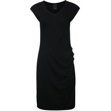 One two luxzuz Eleanor Dress Solid Zwart