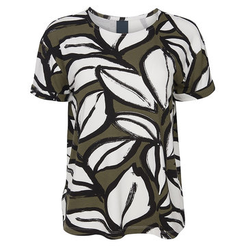 One two luxzuz Karin t-shirt Olive