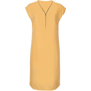 One Two Luxzuz Cassandra Dress Honey Gold