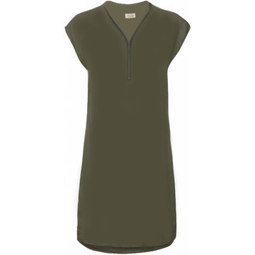 One Two Luxzuz Cassandra Dress Olive