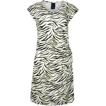 One two luxzuz Eleanor Dress Geel/Zwart
