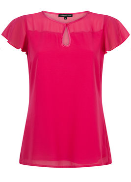 Tramontana top s/s Keyhole Orchid