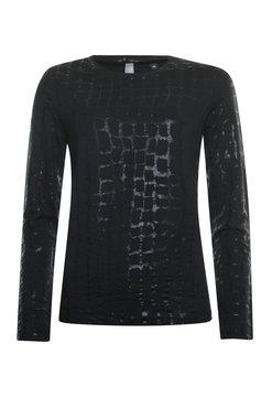 Poools Sweater foil zwart 933096